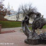 Belarus 5 : バスでヴィテプスクへ。シャガールの家を訪ねる