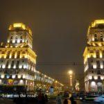 Belarus 2 : ミンスク夜散歩。ベラルーシでSIM購入