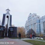 Belarus 9 : ベラルーシ最後の朝。朝散歩と空港バス